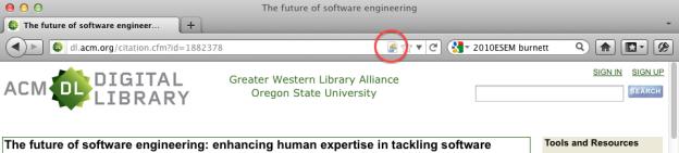 Zotero Add to Library Button