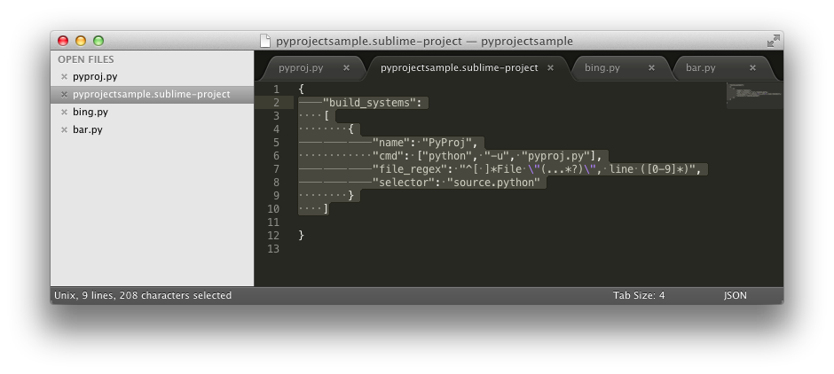 """Add the """"build_systems"""" JSON field in your project settings file, accessible through the Project menu > Edit project."""